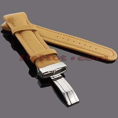 Watch Bands: Joe Rodeo Polyurethane Watch Band 24mm Camel