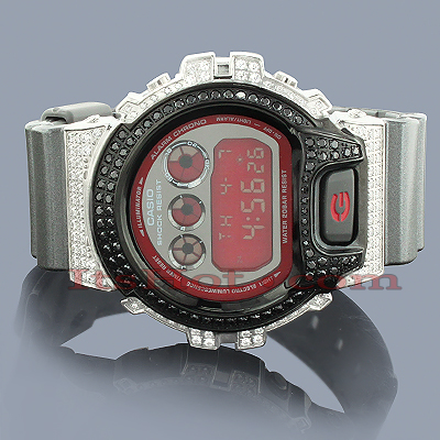 White Black Crystal G-Shock Watch DW-6900