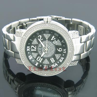Wholesale Diamond Watches Super Techno Mens Watch 0.12