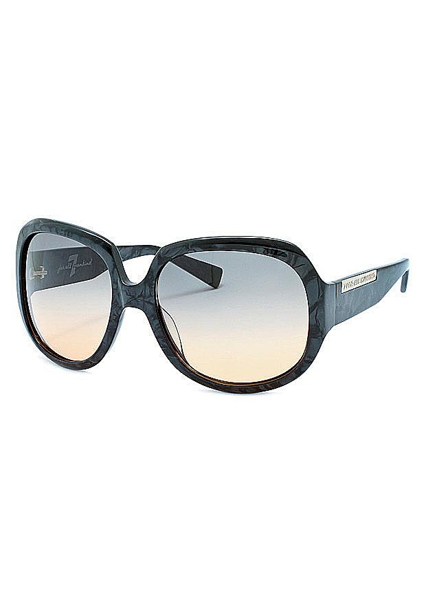 Women's Designer Sunglasses: 7 For All Mankind Sunglasses BEVERLY-ONYX-61-18