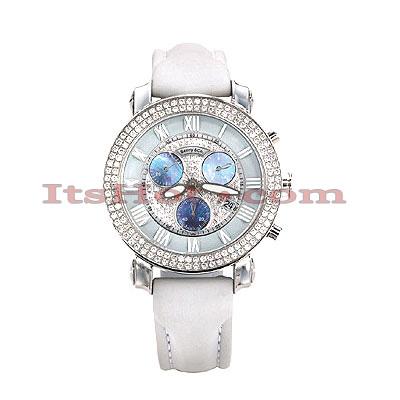 Womens Diamond Benny Co Watch 1.9ct White