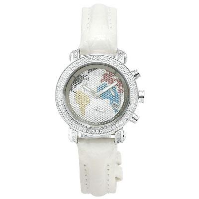 Womens JOJO Diamond Watch 0.60ct, White
