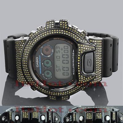 Yellow Diamond G Shock Watch 5.25ct