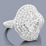 designer right hand diamond ring