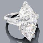 platinum marquise diamond engagement ring