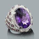 gemstone jewelry: ladies diamond ring