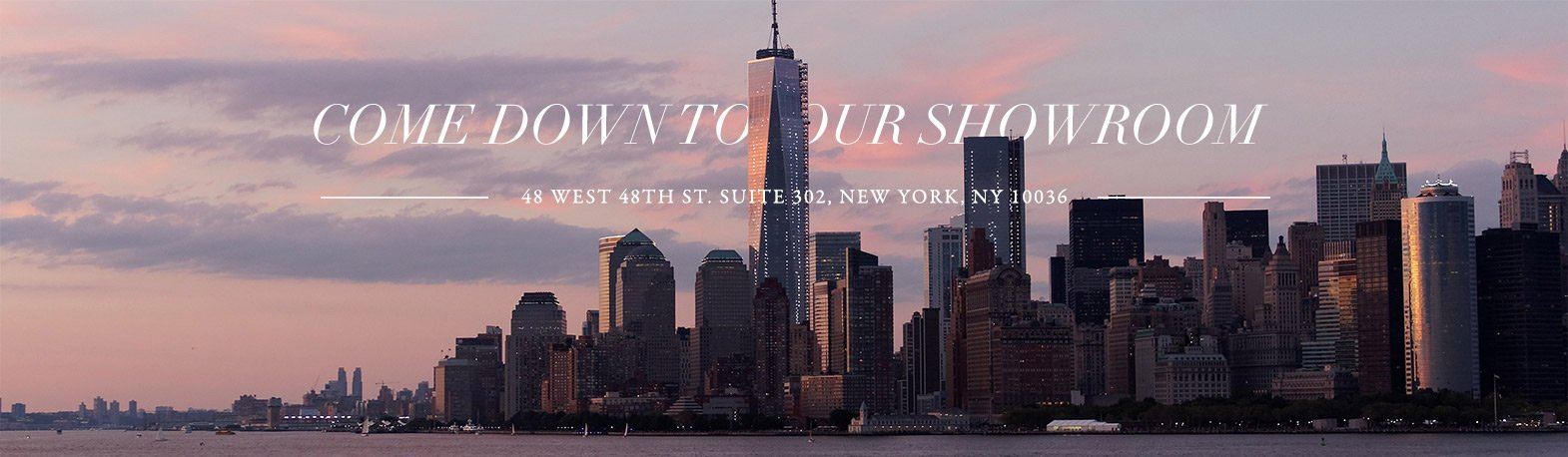 Visit our NY Jewelry Showroom