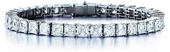 Women Custom Diamond Bracelet